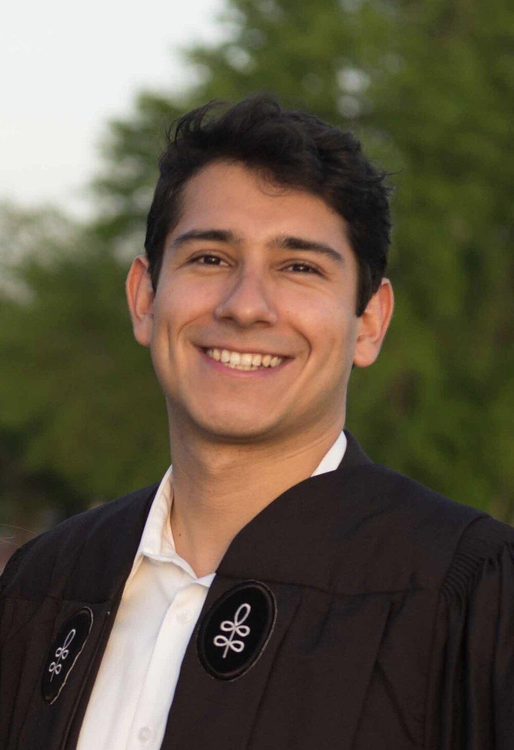 Cesar Villavicencio (he/him): Admissions
